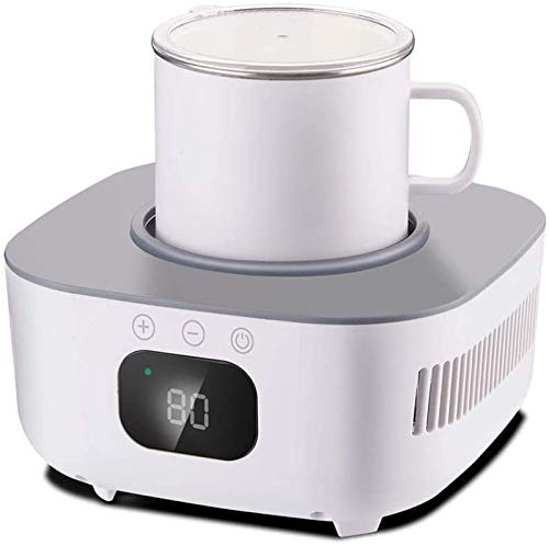 Enfriador de taza rápido de mini refrigeración portátil, enfriador de botellas electrónico de bebidas de vino de cerveza helada, refrigerador de enfriamiento rápido de escritorio, enfriador de bebidas