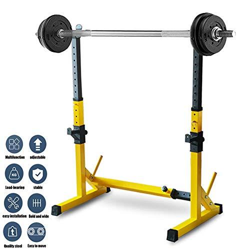 Grist CC Cage De Squat Supports De Squat R/églable Squat Rack avec Barres De Support Charge Max.500 Kg