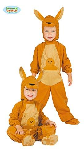 Känguru Baby - Kostüm für Kinder Gr. 86 - 98, Größe:86/92