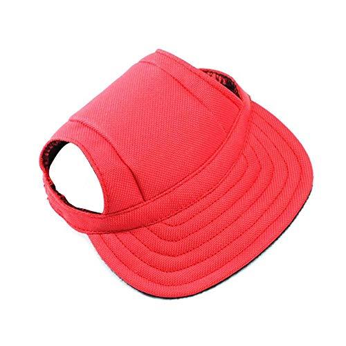 Clara Tracy Mode Haustier Hunde Sport Baseball Hüte Kappen Leinwand Outdoor Sonnenschutz Hut für kleine mittelgroße Hunde Welpen Atmungsaktive Komfort Haustierzubehör