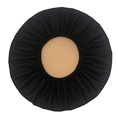 Augld Round Bar Stool Cover Watedrproof Faux Leather Stool Slipcover