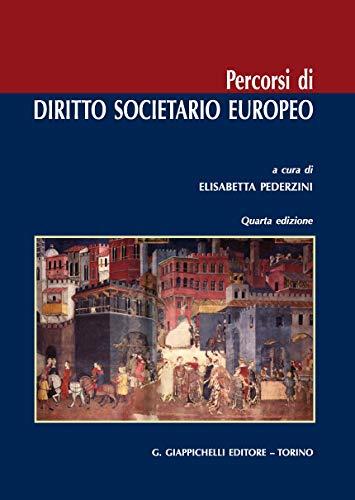 Percorsi di diritto societario europeo