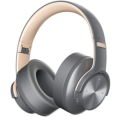 Cuffie Wireless Bluetooth Over Ear Audio ad Alta Fedeltà Bluetooth 5.0 da Studio Senza Fili Pieghevoli
