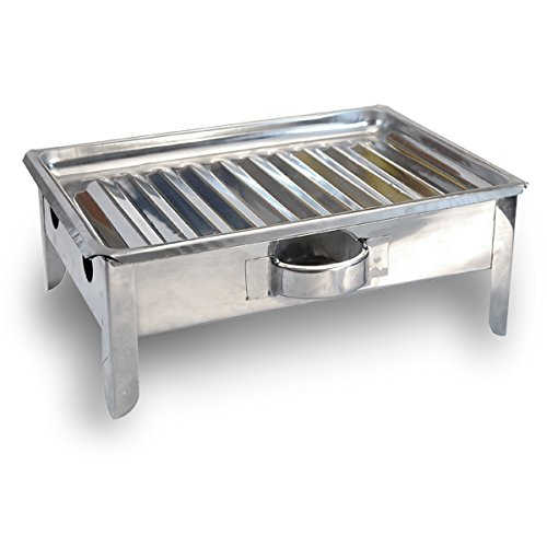Ancient Cookware Bracero de Mesa - Argentinean Table Meat Warmer - Stainless Steel