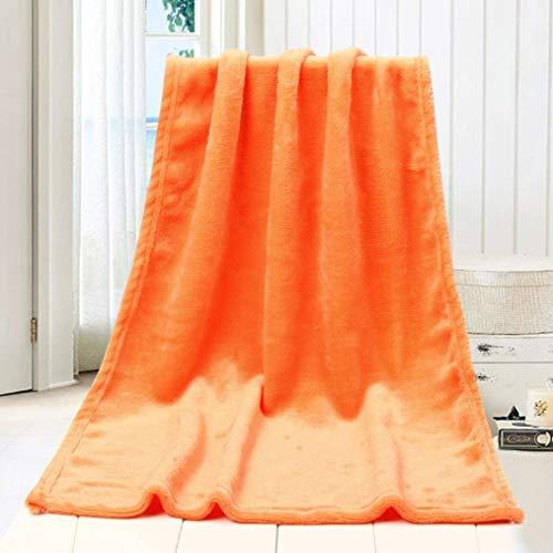 Crystallly À La Mode Snuggle Out Flannel Pour Enfants Doux Solide Simple Style Et Chaud 50 X 70 Cm Épais Pour Le Printemps Et L'Hiver Pour L'Intérieur Velours Se Sentent Aussi Comme Couverture De