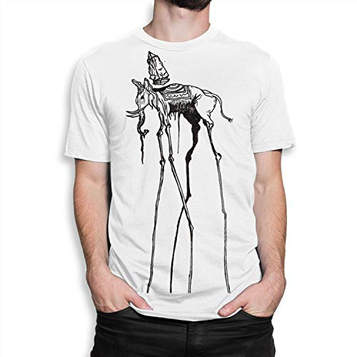 Space Elephant Dali Art T-Shirt, Salvador Dali Tee, Men's Women's, M-Men