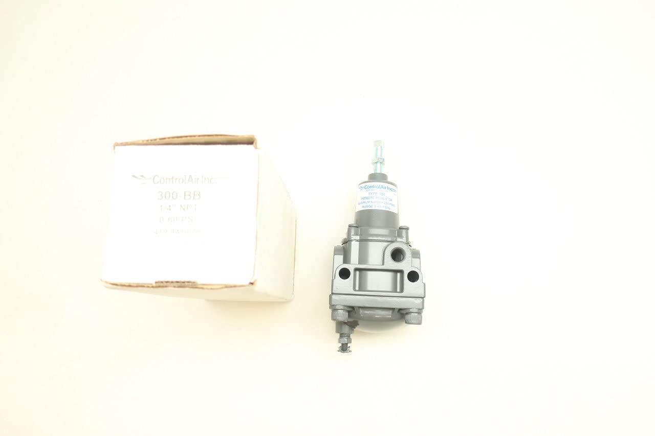 Control security AIR 300-BB Pneumatic Regulator 4IN NPT 1 Surprise price 0-60PSI