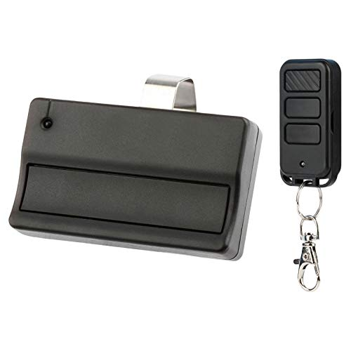 Garage Door Remote Opener for Liftmaster 371LM + Keychain Remote