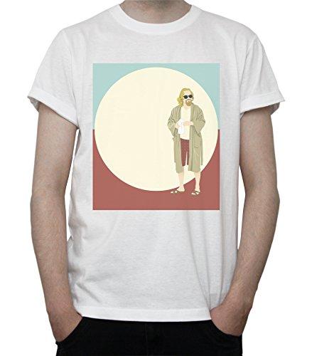 The Big Lebowski Pop Art Graphics Mens T-Shirt Large