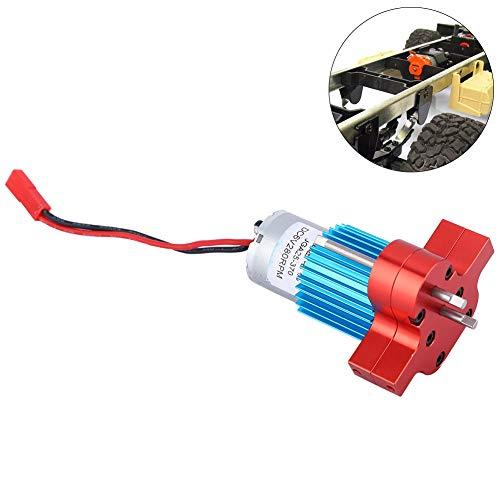 RC Kfz-Getriebe, Metallgetriebe für WPL 1663 RC Car Accessory Parts(Rot)