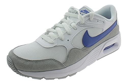 Nike Air MAX SC, Zapatillas Hombre, White Game Royal Wolf Grey, 41.5 EU