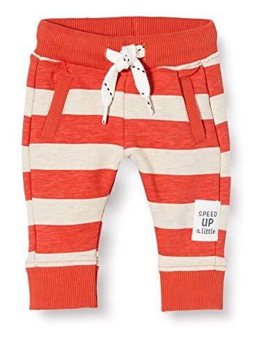 Noppies Baby-Jungen B Regular fit Pants Arroyo Grande AOP/STR Hose, Rot (Paprika P537), (Herstellergröße: 74)