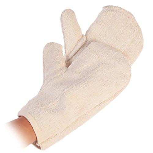 Bäcker-Handschuh, Profi-Backfauster, Hitzeschutzhandschuh, Backhandschuhe, Ofenhandschuh mit verstärkte Handinnenfläche