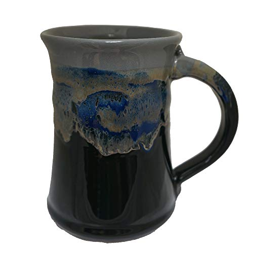 Clay in Motion Large Mug - Stormy Night