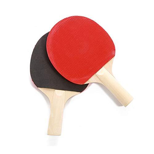 Review Of ZKWSJNGD Table Tennis Set Accessories Wooden Tennis Racket Beginner Tennis Racket