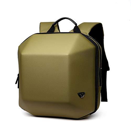 Hanggg styling rugzak mannelijk computer rugzak nonchalante mode reistas Armeegrün