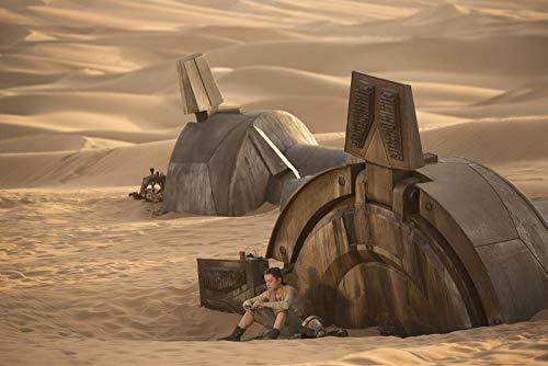 KJHJKH Película de Star Wars/Rey/BB-8,Rompecabezas Madera 1000 Comprimidos,Rompecabezas de Impresión de Alta Definición Multicolor:(H-50 cm x M/B-75 cm)