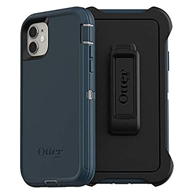 OtterBox DEFENDER SERIES SCREENLESS EDITION Case for iPhone 11 - GONE FISHIN (WET WEATHER/MAJOLICA BLUE)