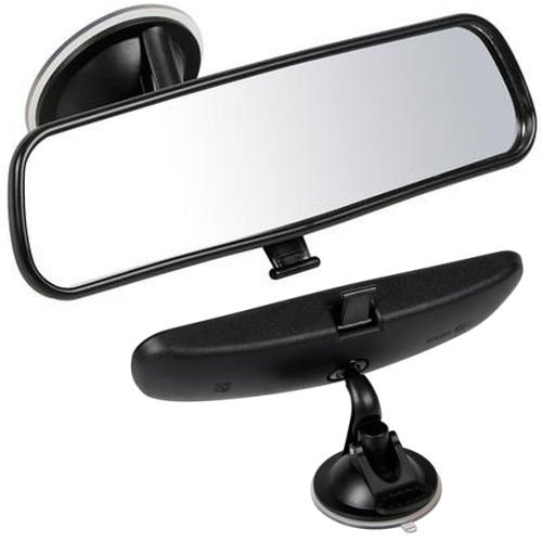 AutoScheich® KFZ Beifahrer Spiegel Abblendbar Zusatz Innen Spiegel Auto Rückspiegel Saugnapf Fahrschule