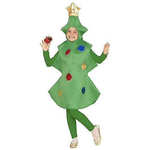 WIDMANN-Albero di Natale Costume per Bambini, Multicolore, (158 cm / 11-13 Anni), 2808
