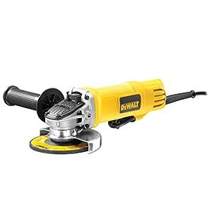 Dewalt DWE4120-QS Mini-amoladora 115 mm 900W 11.800 rpm con interruptor hombre-muerto