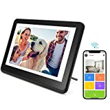 Digital Picture Frame WiFi Digital Photo Frame YEEHAO 1920x1080 Touch Screen, Support Thumb USB Drive and SD Slot, Music Player, Share Photos and Videos via APP, Cloud, Email(8 inch)