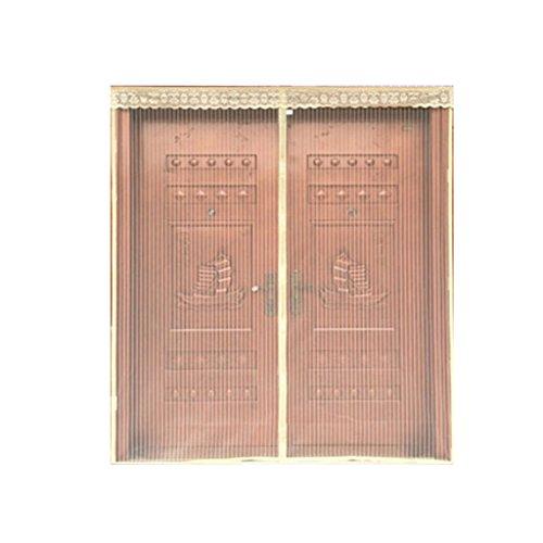 Puerta De Pantalla Magnética Hogar Libre De Perforación Mosquitera Protección Cortina De Ventilación Adecuado Para 120 * 240 Cm,#1,120Width*240Height