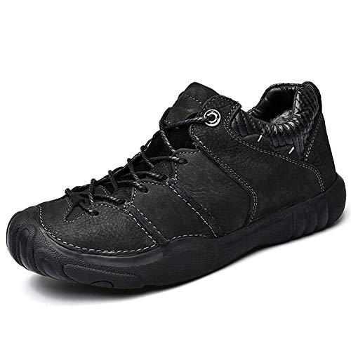 Magnifier Zapatos de Senderismo Impermeables para Hombre, Antideslizantes al Aire Libre, Ligeros, con Cordones, Botas de Tobillo, mochilero, Senderismo, montañismo, Zapatos para senderos,B,41