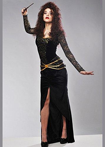 8in1 Bellatrix LeStrange Style Kostüm für Erwachsene L (UK 12-14)