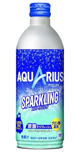 アクエリアス スパークリング 490mlボトル缶 24本入り 北東北限定