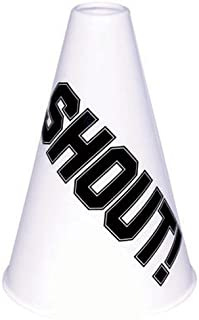Amscan Megaphone, Party Accessory, White