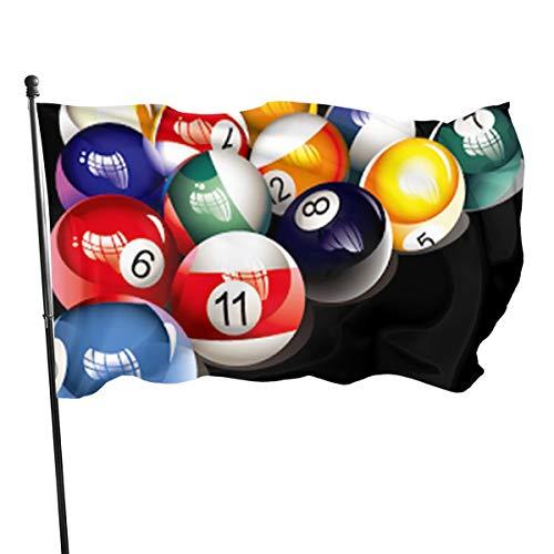 N/A USA Guard Vlag Banner Welkom Vlaggen Bloed Biljart Ball Yard voor Vakantie Patio Verjaardag Decoratie 3x5 Ft