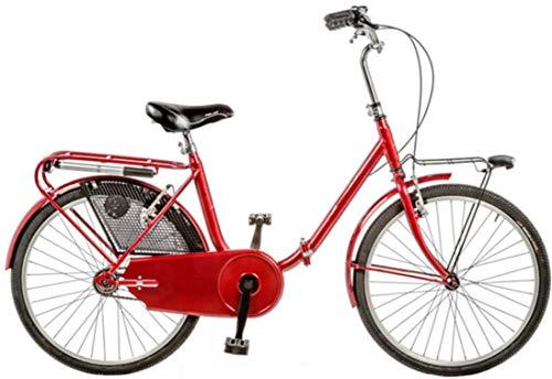 """Cicli Puzone Bici 24"""" Pieghevole GRAZIELLA Art. GRZ24 (Rosso)"""