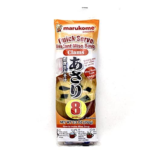Marukome Sopa instantánea de Miso Almejas 152 g