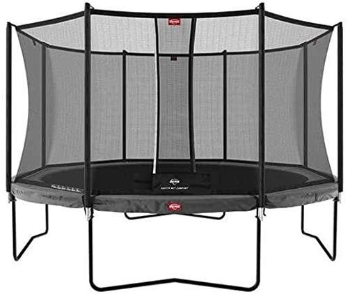 BERG Champion Regular Grey 430 14ft Trampoline + Safety Net Comfort Trampoline