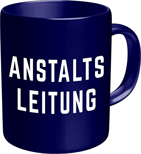 Original RAHMENLOS® Kaffeebecher: Anstaltsleitung - Im Geschenkkarton 2613