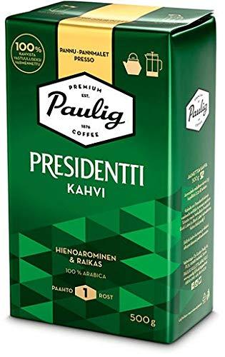 Paulig Presidentti pan ground Kaffee 8 Pack of 500g