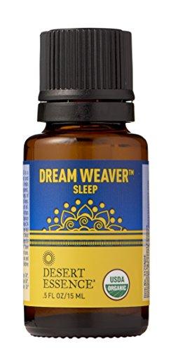 Price comparison product image Desert Essence Organic Essential Oil - Dream Weaver - Sleep - .5 Fl Oz - Freshens Air - Clarifying Scent - Promotes Feelings of Tranquility - Tea Tree,  Lavender,  Bergamot Oil - Diffuser