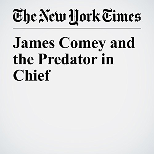 James Comey and the Predator in Chief audiobook cover art