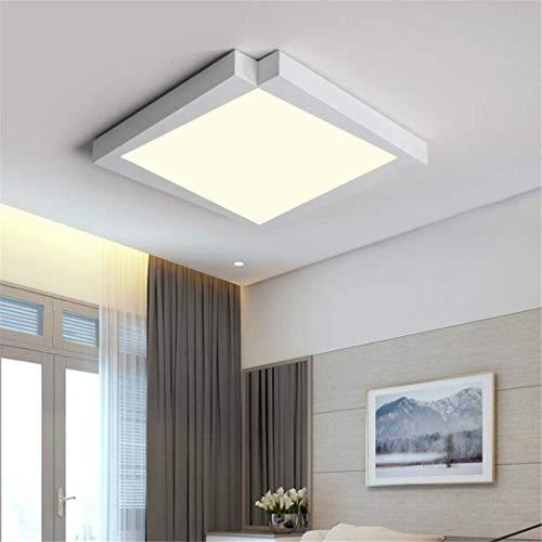 GD1 Plafond Licht Witte Woonkamer Lamp Nieuwe Eenvoudige Moderne Thuis Vierkante Hal Licht Creatieve Led Persoonlijkheid Noordse Slaapkamer Verlichting