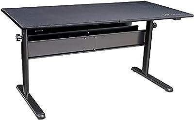 Thermaltake Level 20 GT BattleStation Height Adjustable Gaming Desk, Black (GD-LBS-BRHANX-01)