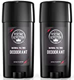 Natural Deodorant for Men - Aluminum Free Mens Deodorant. Odor Protection and Freshness with All...