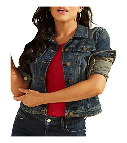 Guess Sexy Trucker Denim Jacket Chaqueta de jean, Saska, XS para Mujer