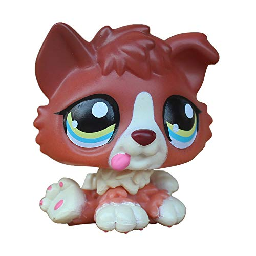 LPSCB Custom-Made Baby for Collie #1542 Red Dog 1 Inch Puppy Mini Bobble Head Pet Shop Toys
