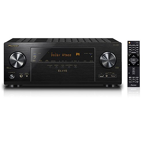 Pioneer 9.2 Channel 4 K UltraHD Network A/V Receiver (Black)