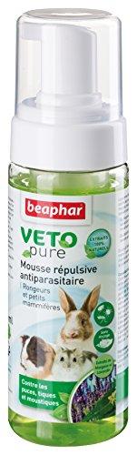 Beaphar - VETOpure, mousse répulsive antiparasitaire -...