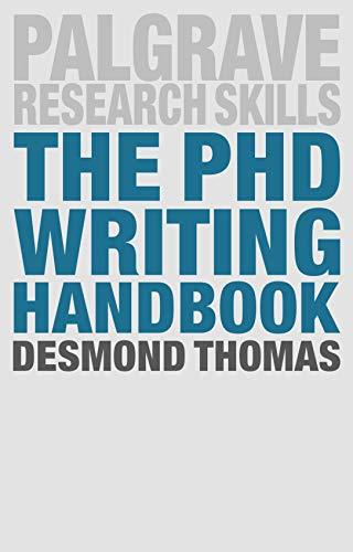 The PhD Writing Handbook (Macmillan Research Skills) (English Edition)