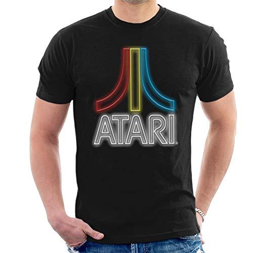Atari Multi Neon Logo Men's T-Shirt
