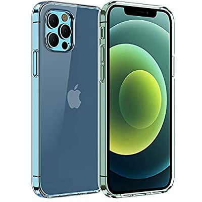Amazon - 80% Off on iPhone 12 Case, iPhone 12 Pro Case, OTYUI Silicone [Slim Thin] Flexible