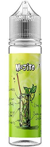 Mojito E Liquid, Shortfill, 50ml Nikotinfrei, Leichter Rum, Limette, Pfefferminz